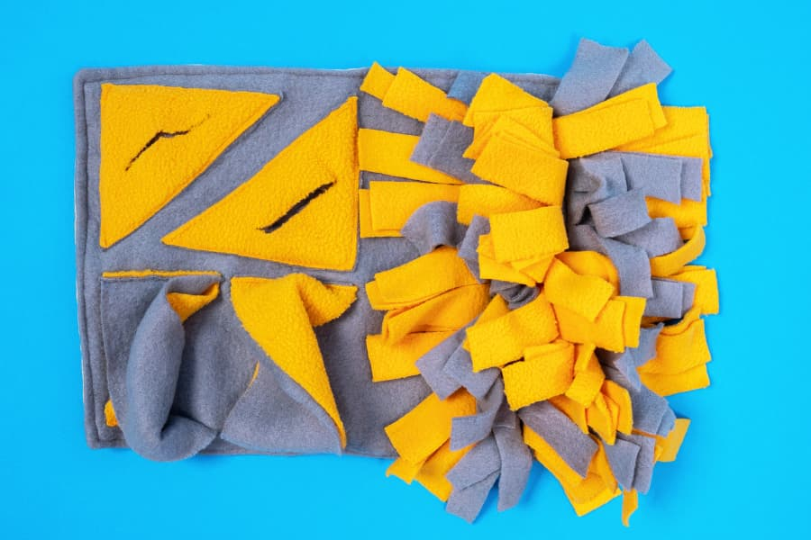 Distract Your Dog with a Snuffle Mat