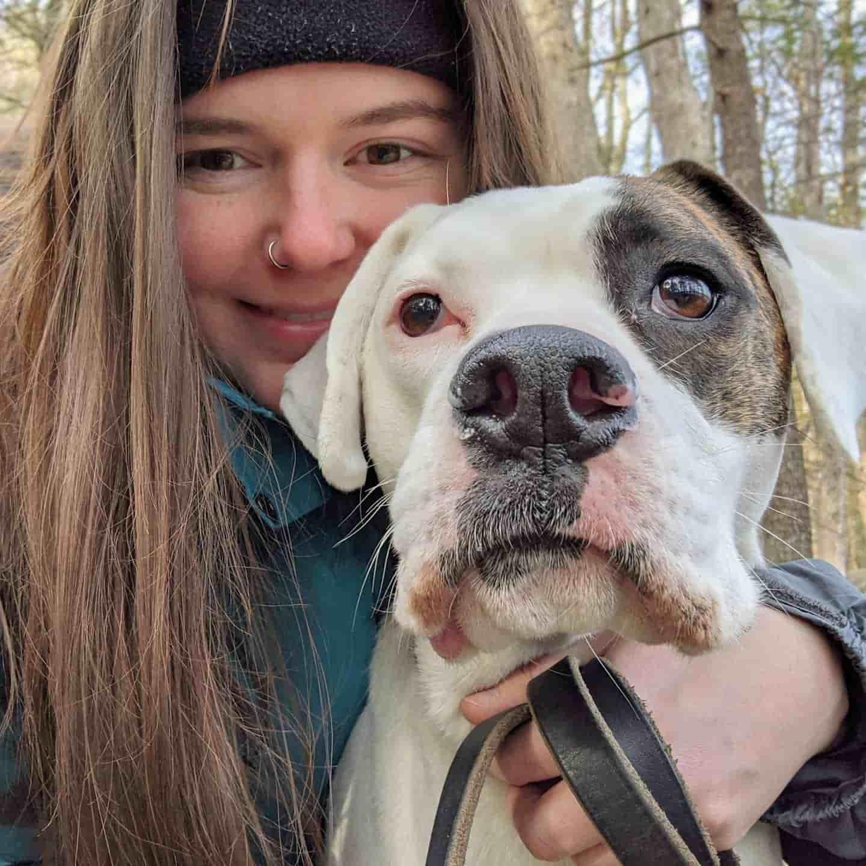 Best Dog Walker Naugatuck CT with dog