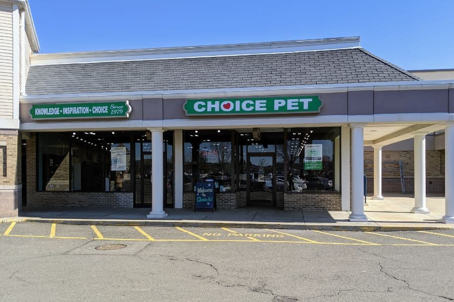 Front of pet store